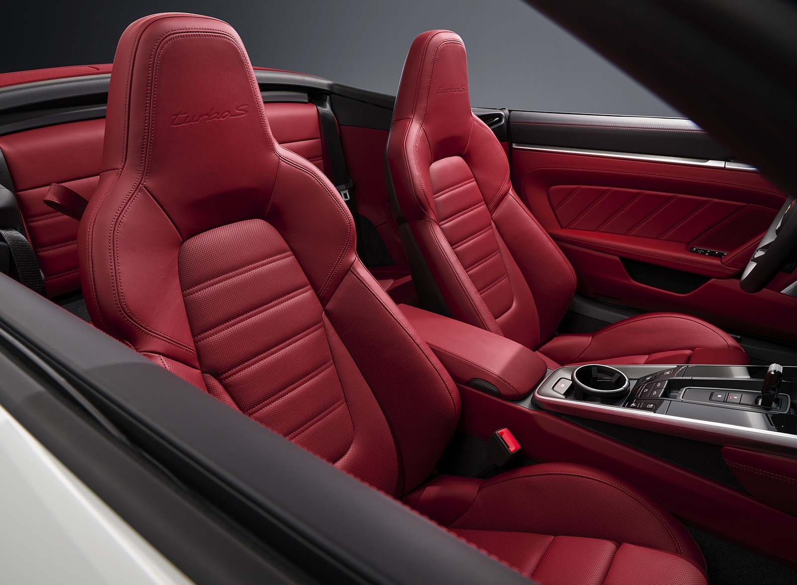 2021 Porsche 911 Turbo S Cabriolet Interior Seats Wallpapers (7)