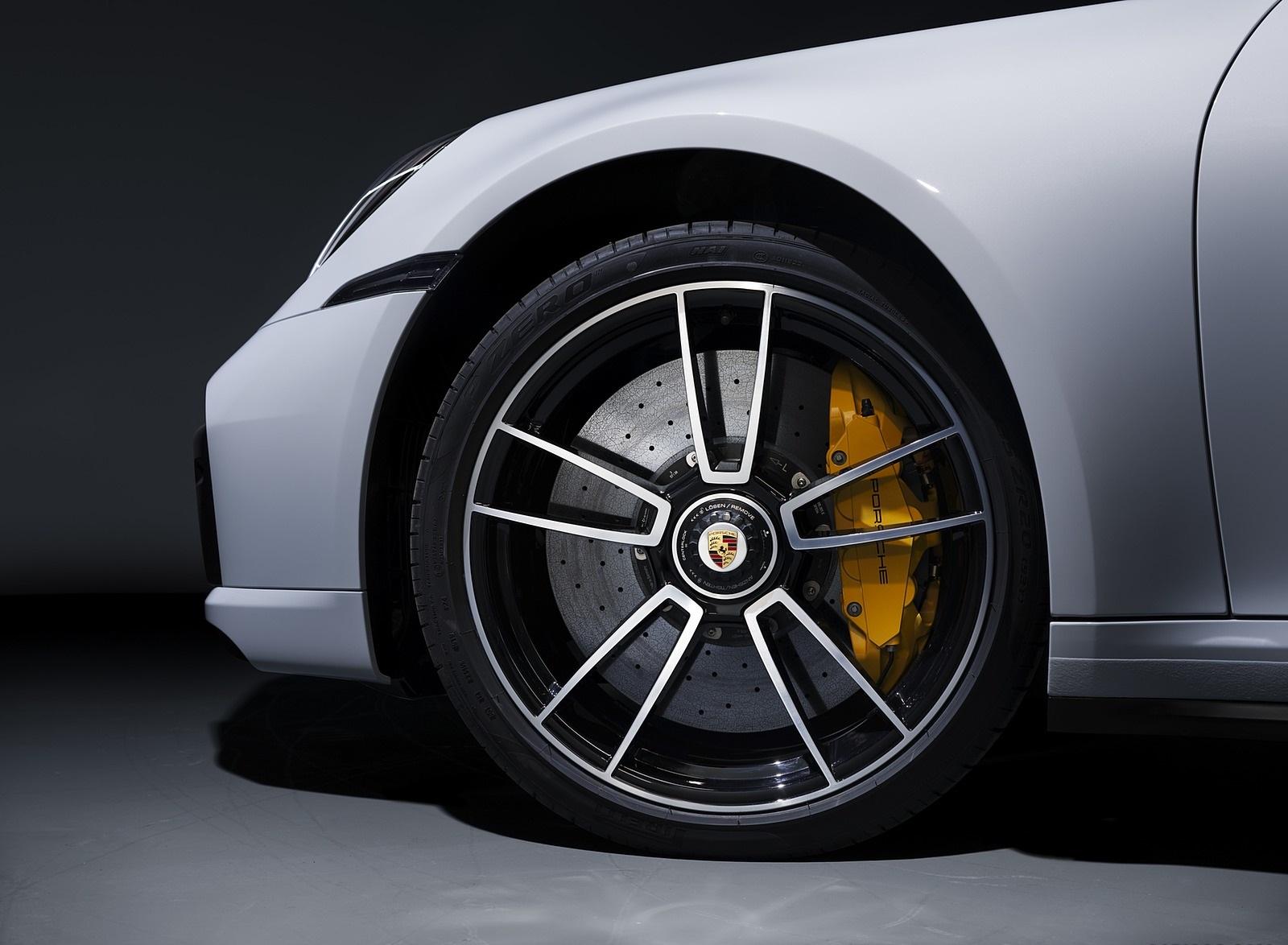 2021 Porsche 911 Turbo S Cabriolet Wheel Wallpapers (5)
