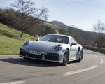 2021 Porsche 911 Turbo S Coupe (Color: GT Silver Metallic) Front Three-Quarter Wallpapers 150x120 (29)