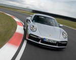 2021 Porsche 911 Turbo S Coupe (Color: GT Silver Metallic) Front Wallpapers 150x120 (35)