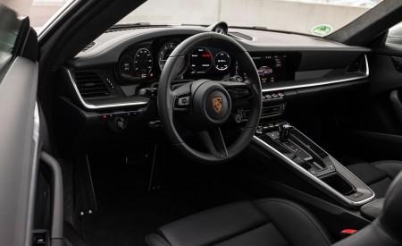 2021 Porsche 911 Turbo S Coupe (Color: GT Silver Metallic) Interior Wallpapers 450x275 (146)