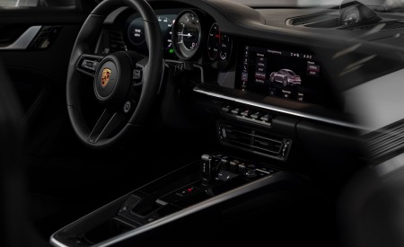 2021 Porsche 911 Turbo S Coupe (Color: GT Silver Metallic) Interior Wallpapers 450x275 (145)