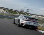 2021 Porsche 911 Turbo S Coupe (Color: GT Silver Metallic) Rear Three-Quarter Wallpapers 150x120 (46)
