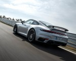 2021 Porsche 911 Turbo S Coupe (Color: GT Silver Metallic) Rear Three-Quarter Wallpapers 150x120 (36)
