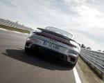 2021 Porsche 911 Turbo S Coupe (Color: GT Silver Metallic) Rear Wallpapers 150x120 (38)