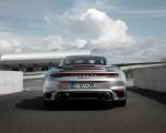 2021 Porsche 911 Turbo S Coupe (Color: GT Silver Metallic) Rear Wallpapers 150x120 (50)