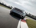 2021 Porsche 911 Turbo S Coupe (Color: GT Silver Metallic) Rear Wallpapers 150x120 (39)
