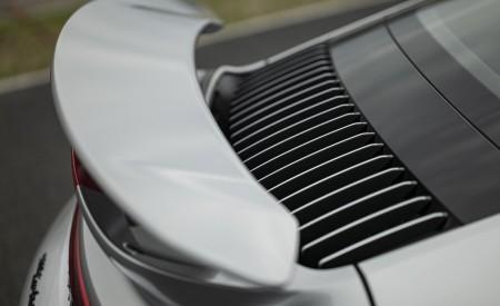 2021 Porsche 911 Turbo S Coupe (Color: GT Silver Metallic) Spoiler Wallpapers 450x275 (131)