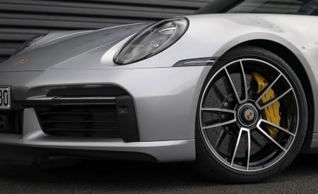 2021 Porsche 911 Turbo S Coupe (Color: GT Silver Metallic) Wheel Wallpapers 450x275 (129)