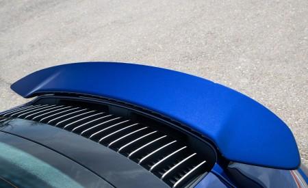 2021 Porsche 911 Turbo S Coupe (Color: Gentian Blue Metallic) Spoiler Wallpapers 450x275 (189)