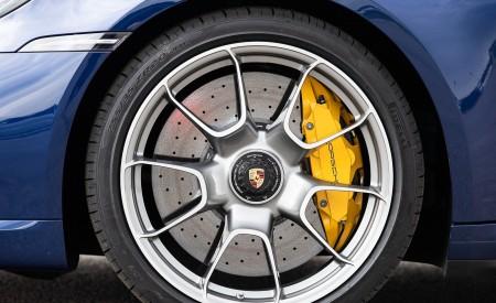 2021 Porsche 911 Turbo S Coupe (Color: Gentian Blue Metallic) Wheel Wallpapers 450x275 (187)