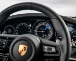 2021 Porsche 911 Turbo S Coupe (Color: Guards Red) Interior Steering Wheel Wallpapers 150x120 (25)