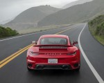 2021 Porsche 911 Turbo S Coupe (Color: Guards Red) Rear Wallpapers 150x120 (6)