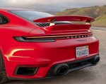 2021 Porsche 911 Turbo S Coupe (Color: Guards Red) Spoiler Wallpapers 150x120 (20)