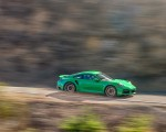 2021 Porsche 911 Turbo S Coupe (Color: Python Green) Front Three-Quarter Wallpapers 150x120 (5)