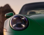 2021 Porsche 911 Turbo S Coupe (Color: Python Green) Headlight Wallpapers 150x120 (28)
