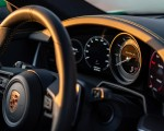 2021 Porsche 911 Turbo S Coupe (Color: Python Green) Interior Steering Wheel Wallpapers 150x120 (50)