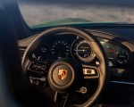 2021 Porsche 911 Turbo S Coupe (Color: Python Green) Interior Steering Wheel Wallpapers 150x120 (40)