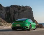 2021 Porsche 911 Turbo S Coupe (Color: Python Green) Rear Three-Quarter Wallpapers 150x120 (12)