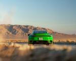 2021 Porsche 911 Turbo S Coupe (Color: Python Green) Rear Wallpapers  150x120 (14)