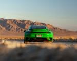 2021 Porsche 911 Turbo S Coupe (Color: Python Green) Rear Wallpapers 150x120 (15)