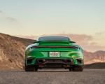 2021 Porsche 911 Turbo S Coupe (Color: Python Green) Rear Wallpapers 150x120 (16)