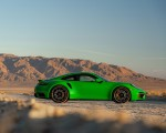 2021 Porsche 911 Turbo S Coupe (Color: Python Green) Side Wallpapers 150x120 (20)