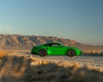 2021 Porsche 911 Turbo S Coupe (Color: Python Green) Side Wallpapers 150x120 (18)