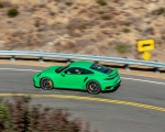 2021 Porsche 911 Turbo S Coupe (Color: Python Green) Side Wallpapers 150x120 (2)