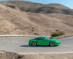 2021 Porsche 911 Turbo S Coupe (Color: Python Green) Side Wallpapers 150x120 (6)