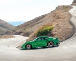 2021 Porsche 911 Turbo S Coupe (Color: Python Green) Side Wallpapers 150x120 (3)