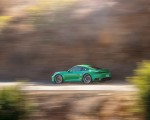 2021 Porsche 911 Turbo S Coupe (Color: Python Green) Side Wallpapers 150x120 (8)