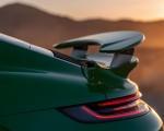 2021 Porsche 911 Turbo S Coupe (Color: Python Green) Spoiler Wallpapers 150x120 (37)