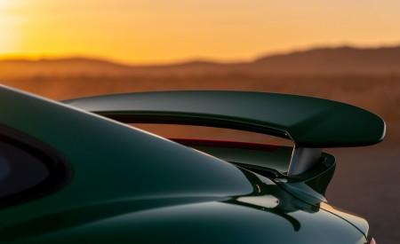 2021 Porsche 911 Turbo S Coupe (Color: Python Green) Spoiler Wallpapers 450x275 (33)