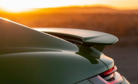2021 Porsche 911 Turbo S Coupe (Color: Python Green) Spoiler Wallpapers 450x275 (34)