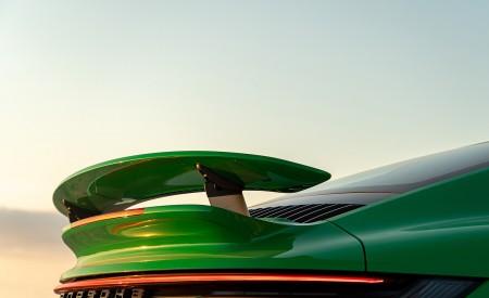 2021 Porsche 911 Turbo S Coupe (Color: Python Green) Spoiler Wallpapers 450x275 (35)