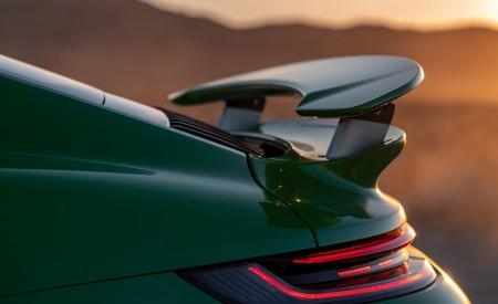 2021 Porsche 911 Turbo S Coupe (Color: Python Green) Spoiler Wallpapers 450x275 (37)