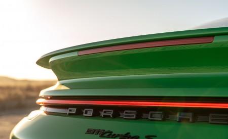 2021 Porsche 911 Turbo S Coupe (Color: Python Green) Spoiler Wallpapers  450x275 (36)