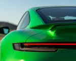 2021 Porsche 911 Turbo S Coupe (Color: Python Green) Tail Light Wallpapers 150x120 (39)