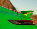 2021 Porsche 911 Turbo S Coupe (Color: Python Green) Tail Light Wallpapers 150x120 (38)