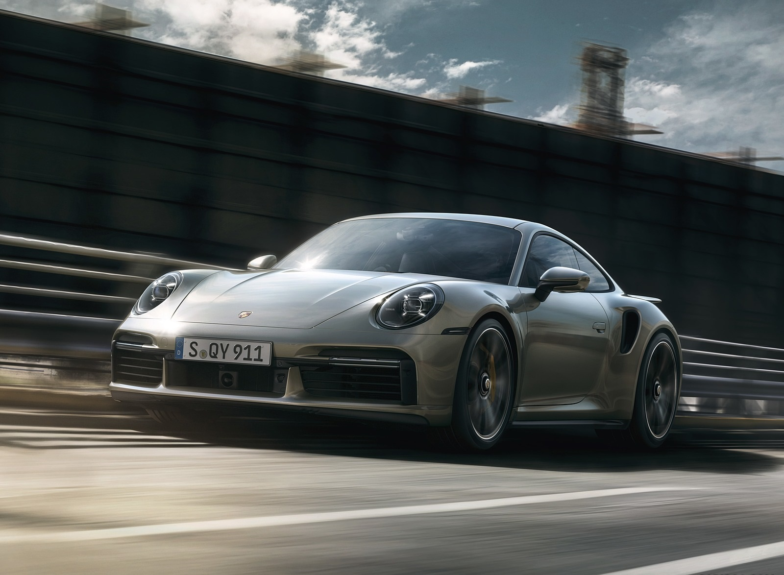 2021 Porsche 911 Turbo S Coupe Front Three-Quarter Wallpapers (1)
