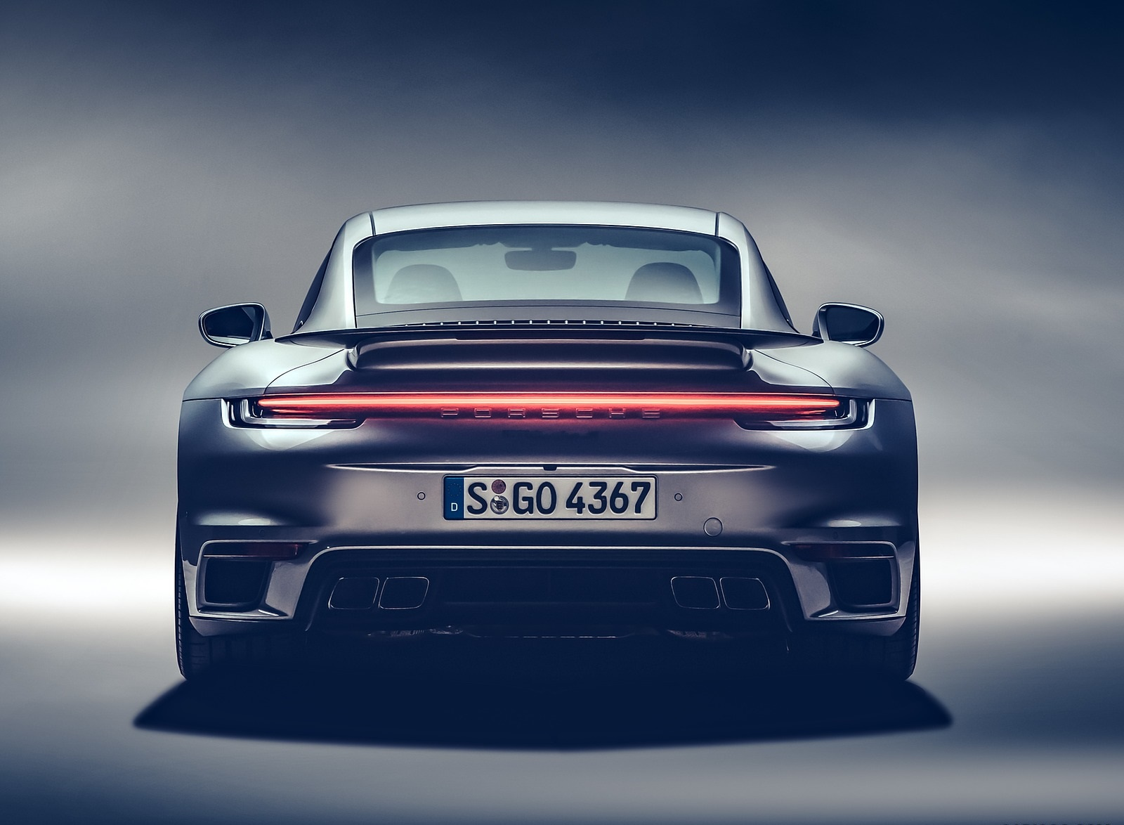 2021 Porsche 911 Turbo S Coupe Rear Wallpapers (8)