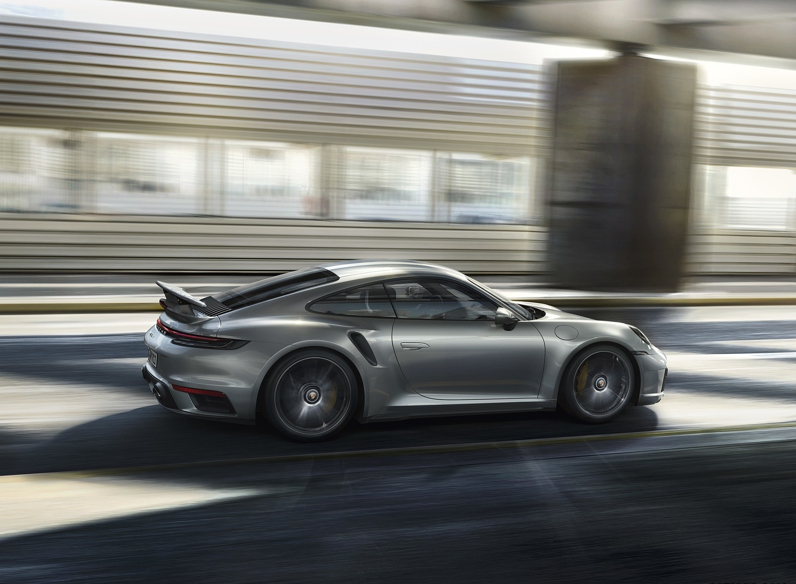 2021 Porsche 911 Turbo S Coupe Side Wallpapers 4 Newcarcars