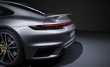 2021 Porsche 911 Turbo S Coupe Spoiler Wallpapers 450x275 (236)