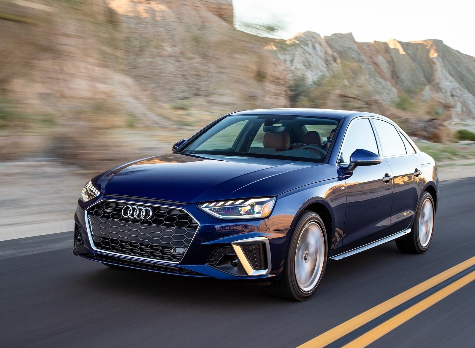 2020 Audi A4 (US-Spec) Front Three-Quarter Wallpapers (2)