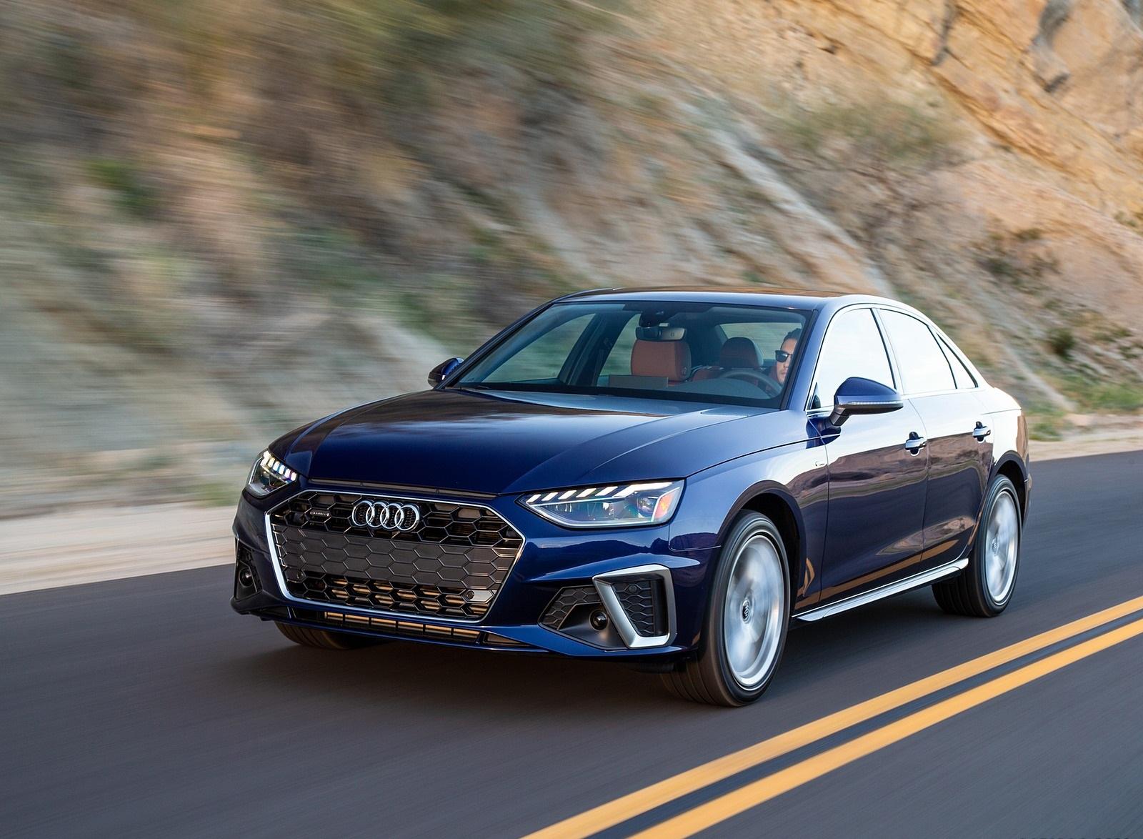 2020 Audi A4 (US-Spec) Front Three-Quarter Wallpapers (1)