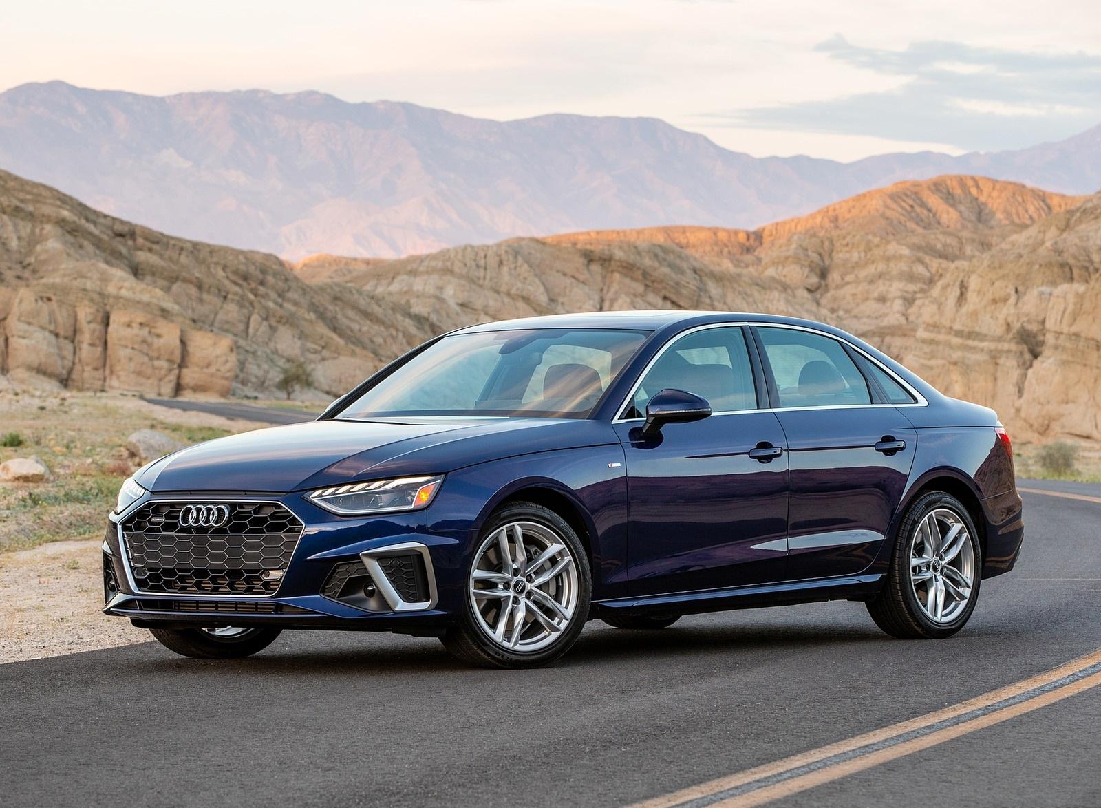 2020 Audi A4 (US-Spec) Front Three-Quarter Wallpapers (7)