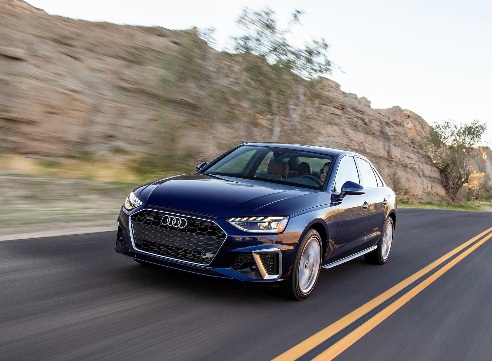 2020 Audi A4 (US-Spec) Front Three-Quarter Wallpapers (3)