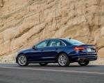 2020 Audi A4 (US-Spec) Rear Three-Quarter Wallpapers 150x120 (10)