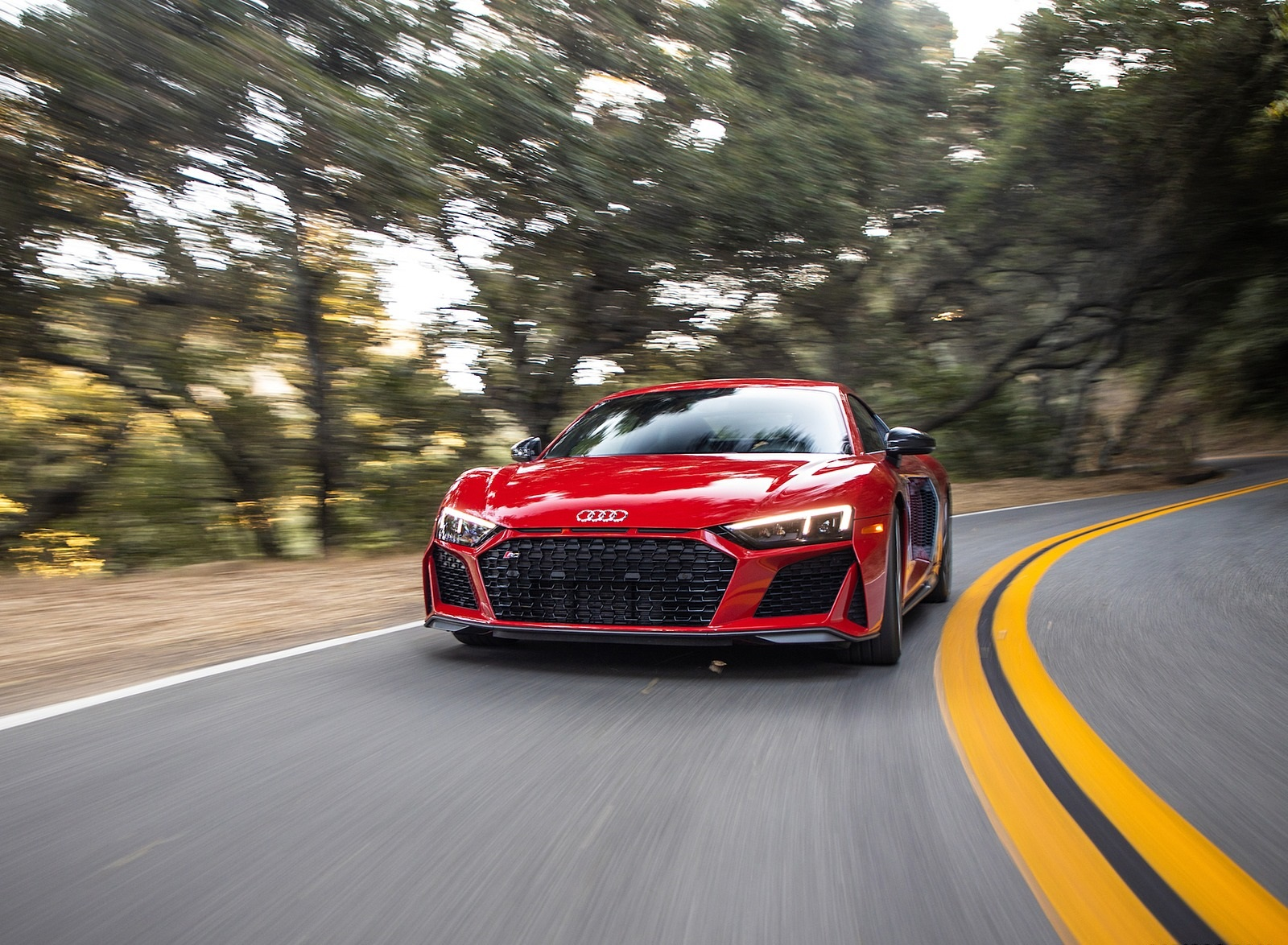 2020 Audi R8 Coupe (US-Spec) Front Wallpapers (2)